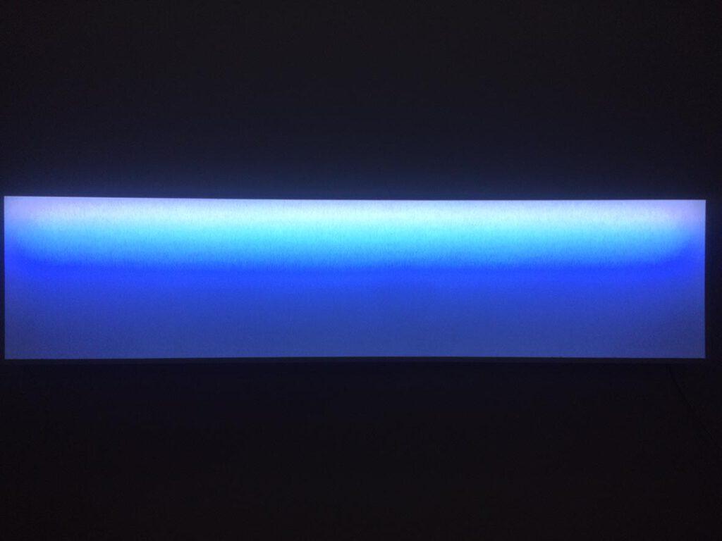 Betty Rieckmann – Earth Upside Down – Lichtinstallation, 2019