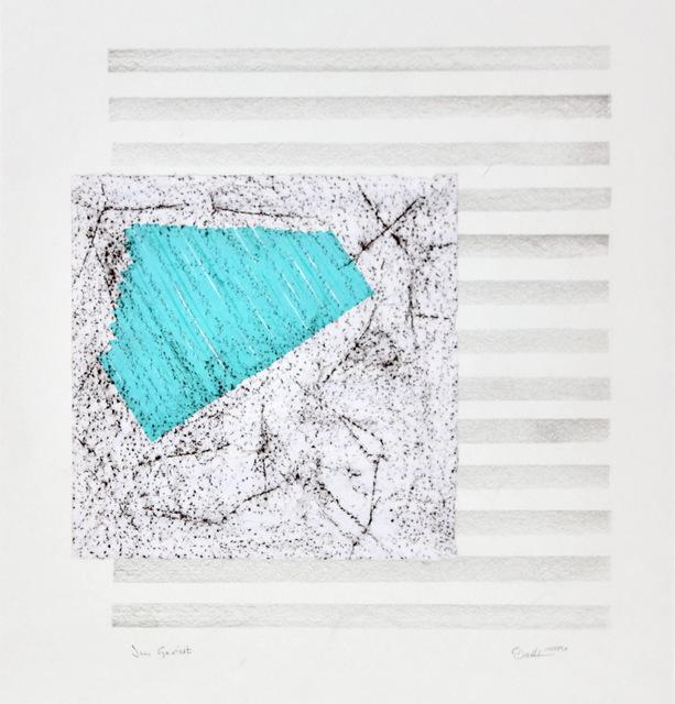 """""""Im Geviert"""" (Inventar-Nummer 1000/509, 59 x 41 cm)"""